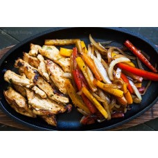 The Best Chicken Fajitas (Tavuk)
